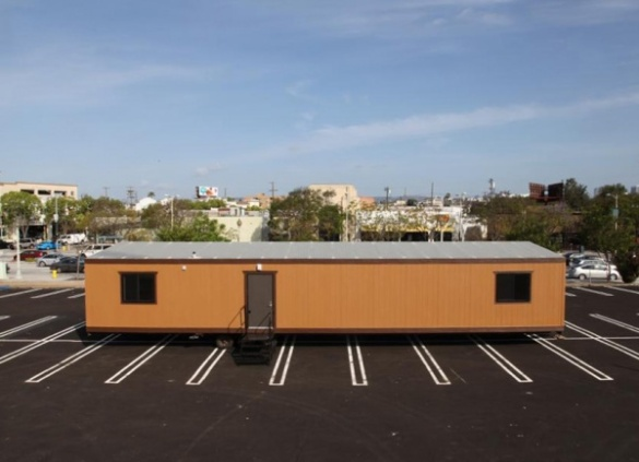 On-Site Office Trailers Invisible Architecture of the Urban Environment