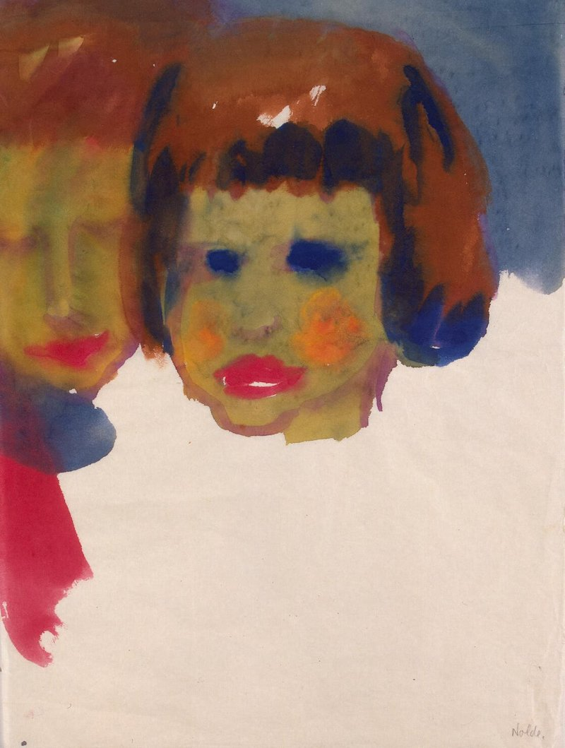Nolde_Emil-ZZZ-Portrait_of_a_Young_Woman_and_a_Child